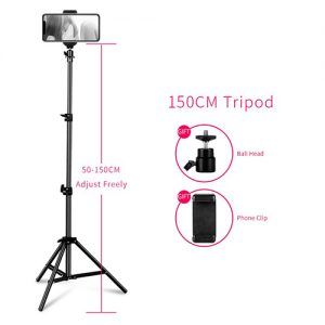 Selfie Light Stand Tripod