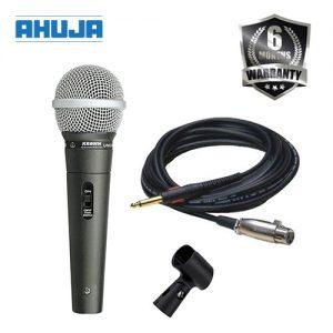 AHUJA AUD 98XLR Dynamic Corded Mic Microphone Accessories