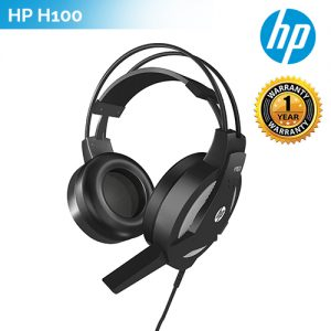 HP Wired Gaming PC Headset Stereo Sound HP H100 Headphone