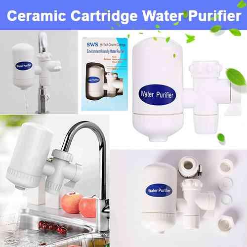 Hi-Tech Ceramic Cartridge Water Purifier Water Filter Home Needs
