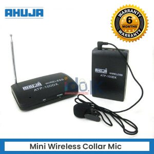 Mini Wireless Collar Mic Receiver and Transmitter
