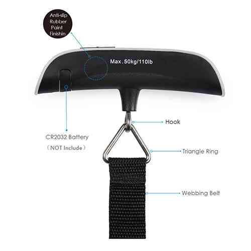 Portable Electronic Luggage Scale Home & Lifestyle