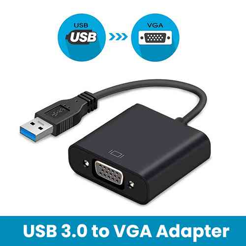 USB to VGA Video Adapter Computer Accessories