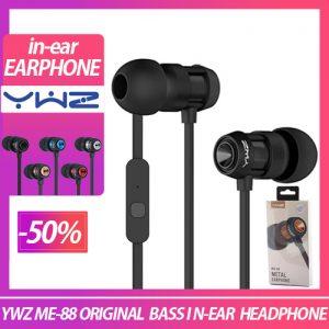 YWZ Metal-88 Extra Bass n-Ear Wired Earphone Earphone