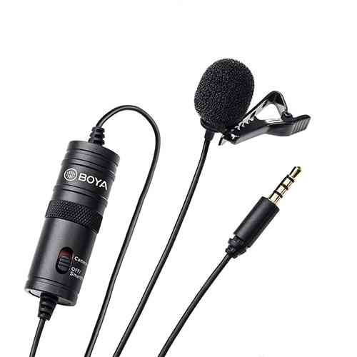BOYA BY - M1 Clip-On Microphone