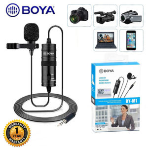 BOYA BY – M1 Clip-On Microphone Microphone Accessories