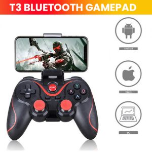 T3 Bluetooth Gamepad Smart Phone Game Controller