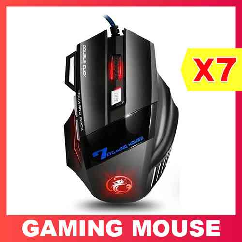 USB Wired Gaming Mouse X7 Computer Accessories