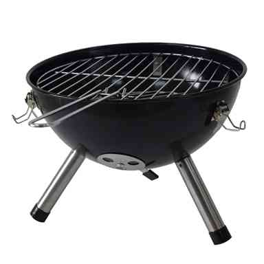 Jumbuck Black Portable Charcoal Grill BBQ