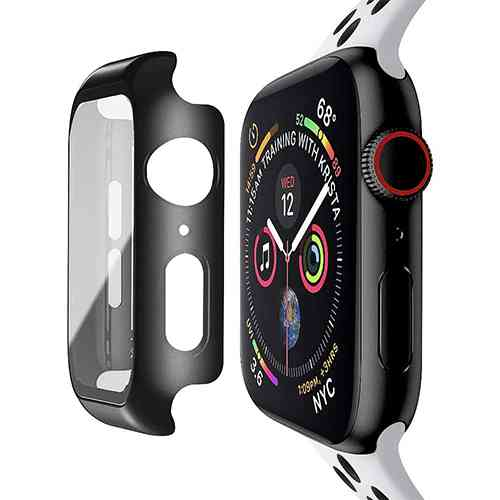 Apple Watch Case with Built-in Tempered Glass Screen Protector