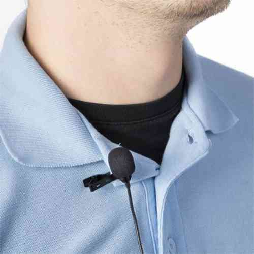 Clip Mic Mini Portable Lavalier Microphone