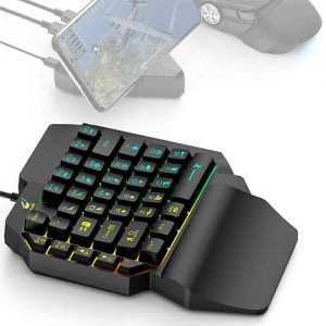 K15 One-hand Mobile Phone Game Keyboard