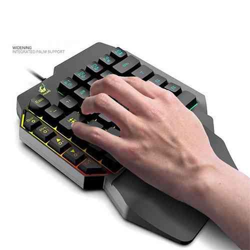K15 One-hand Mobile Phone Game Keyboard