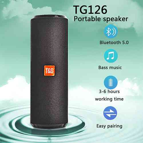 Portable Bluetooth Speaker TG126