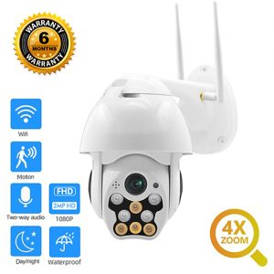 Smart Security WiFi Camera Night Vision IP Camera