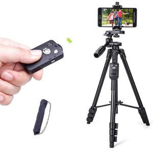Bluetooth Remote Tripod for phone, video camera Tripod TTX-6218