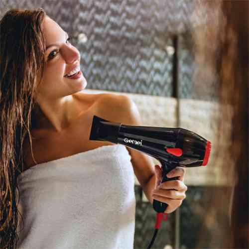 Professional hair dryer Gemei GM-1706