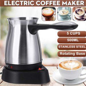 Turkish Electric Coffee Maker Boiled Milk Espresso Briki Pot 220V Kitchen & Dining
