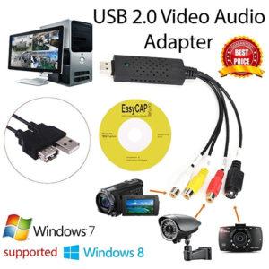 USB 2.0 Video Capture Card Converter PC Adapter Computer Accessories