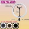 LED Ring Fill Light 3 in 1