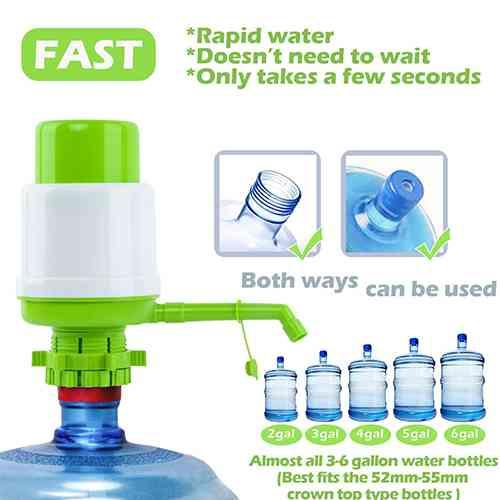Manual Water Pump Dispenser Home Needs