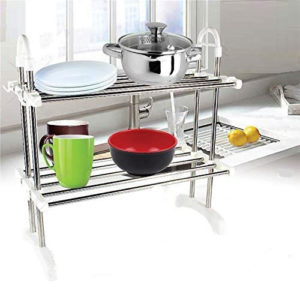Stainless Steel 2 Layer Dish Rack