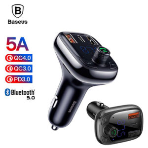 BASEUS Wireless MP3 Charger T Type S-13 Car Care Accessories