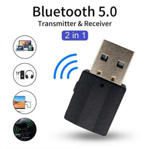 Bluetooth 5.0 Transmitter Receiver BT600 2 in 1 Gadgets & Accesories
