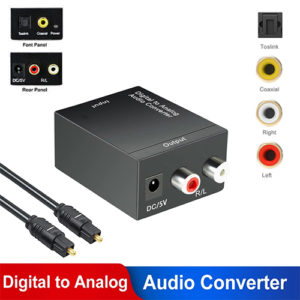 Digital to Analog Audio Converter Computer Accessories