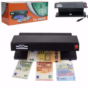 Electronic Fake Currency Detector by UV Light Office Supplies