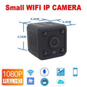 Mini WIFI IP Camera Battery Powered Video Recorder Security Camera
