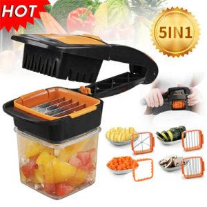 Nicer Dicer Quick Fruit Vegetable Cutter Kitchen & Dining