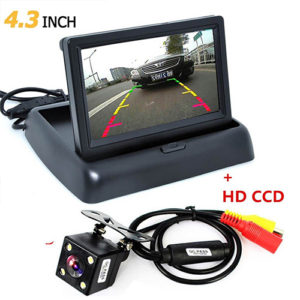 Reverse Camera with Display 4.3 Inch TFT LCD Car Care Accessories