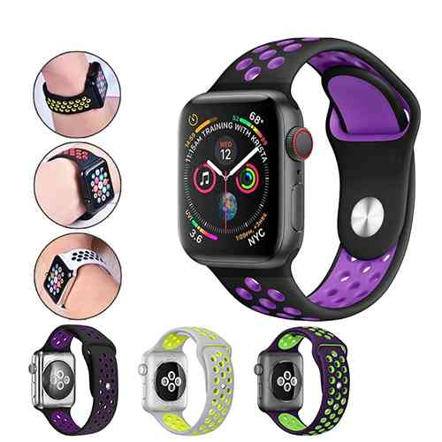Apple Watch Nike Strap 42mm/44mm Silicone Watchband Mobile Accessories