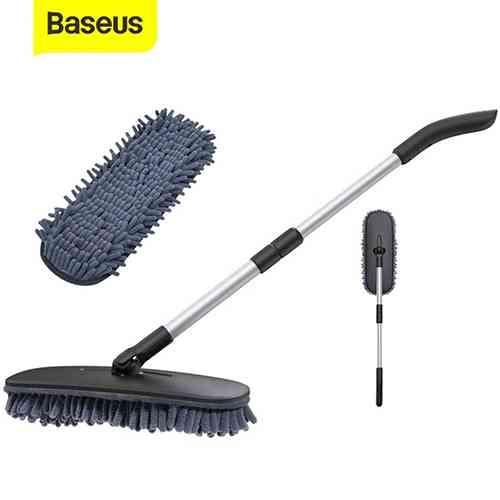 Baseus Dual-Use Car Mop Adjustable Car Wash Brush Car Care Accessories