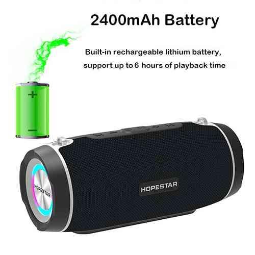 HOPESTAR H45 Bluetooth Speaker Portable Outdoor Waterproof speaker Wireless Speakers