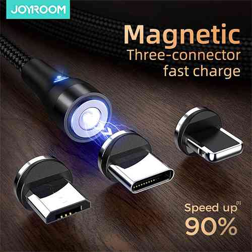 Joyroom Magnetic Charging Cable USB-C/ Micro USB/ Lightning Mobile Accessories