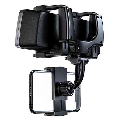 Car Rearview Mirror Mount Stand Holder Cradle For Phone Car Care Accessories