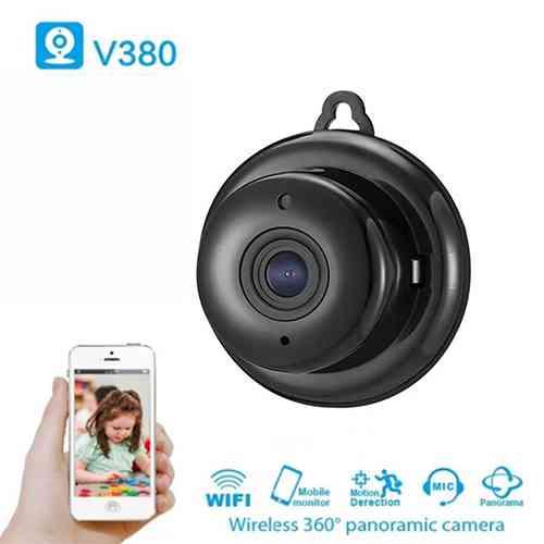 Wireless Mini IP Camera V380 HD 1080P Smart Home Security Camera Night Vision Security Camera