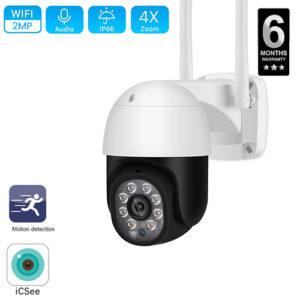 2MP Outdoor WIFI Camera PTZ wifi Camera Security Camera