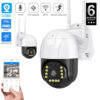 V380 Pro Wifi Camera Wifi Outdoor Camera PTZ WIFI IP Camera 1080P Security Camera
