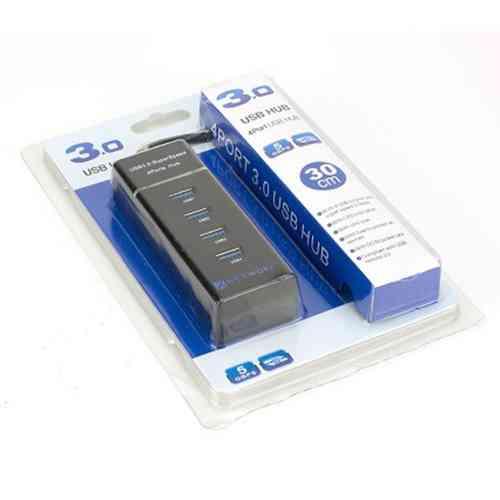3.0 USB HUB 4Ports High Speed Multi HUB Splitter Computer Accessories