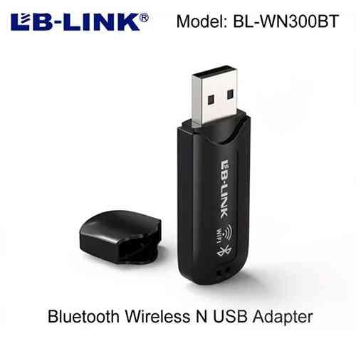 LB Link Bluetooth 4.2 + Wifi N USB Adapter Bluetooth WiFi USB Combo Adapter Computer Accessories