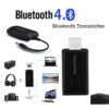 Wireless Bluetooth 4.0 Transmitter Stereo Audio Music Adapter Gadgets & Accesories